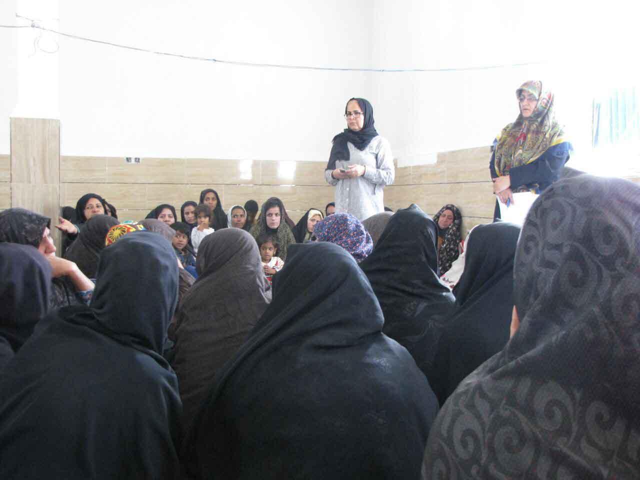توانمندسازی زنان روستای قاسم آباد جیرفت کرمان