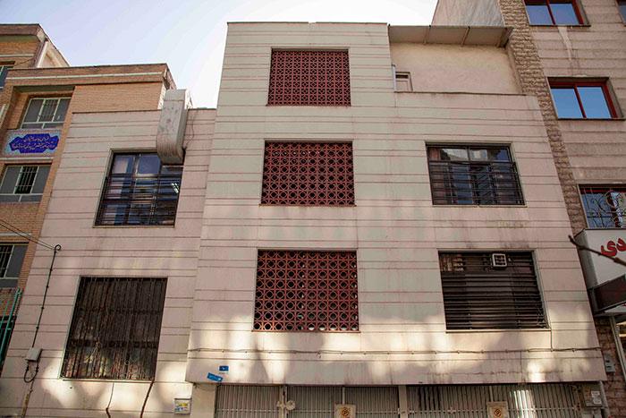 ساختمان خانه اقاقیا موسسه نیکوکاری مهرطه