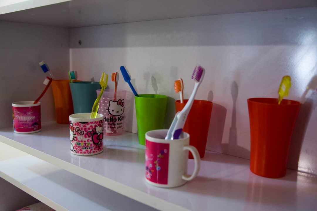 مسواک کودکان - بهداشت دهان و دندان