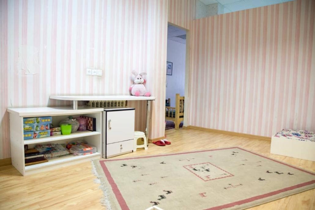 اتاق خواب های خانه اقاقیا موسسه نیکوکاری مهرطه