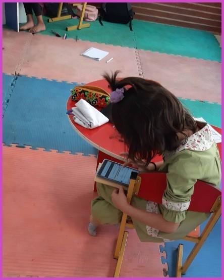 پویش خرید تبلت برای دختران مهرطه