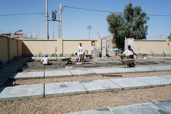 ساخت و تجهیز مدرسه برای بچه های روستا