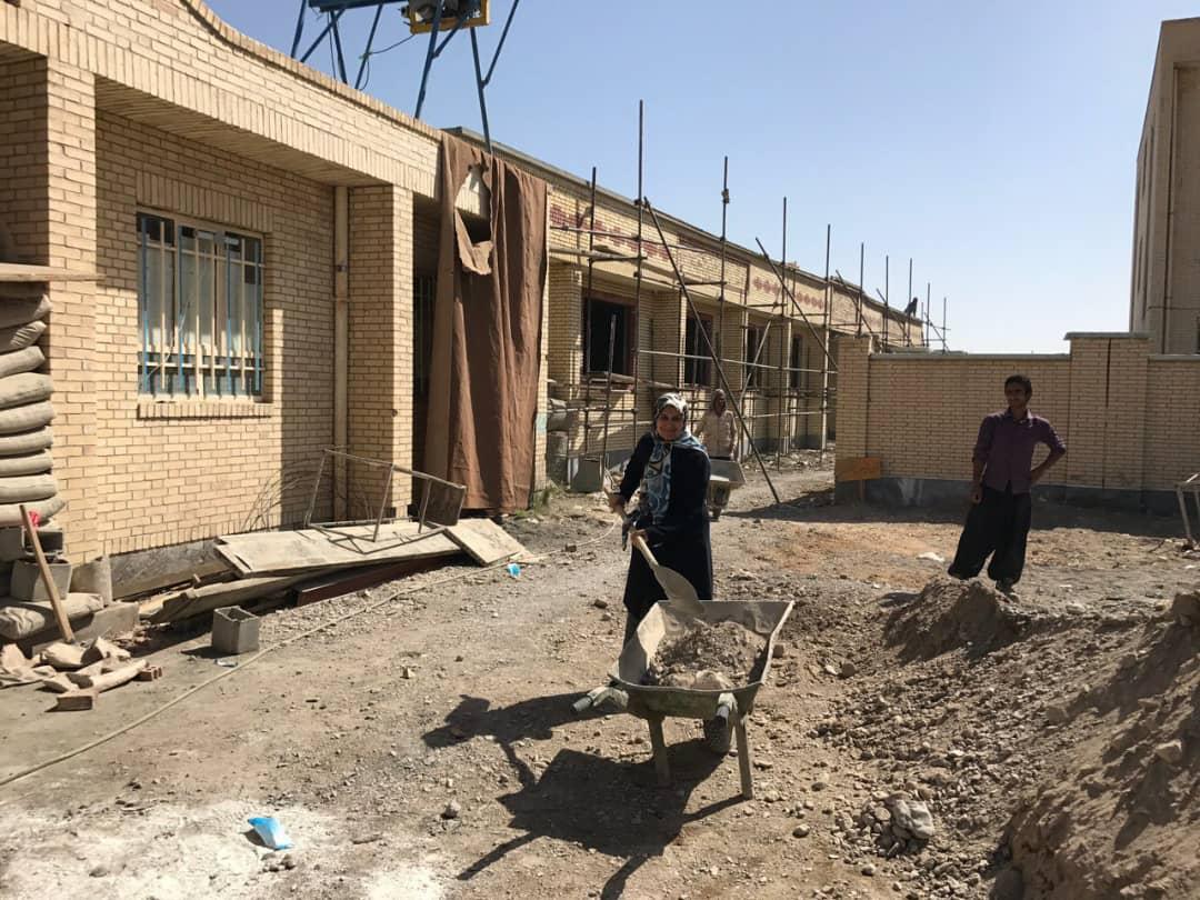 ساخت مدرسه در سیستان و بلوچستان