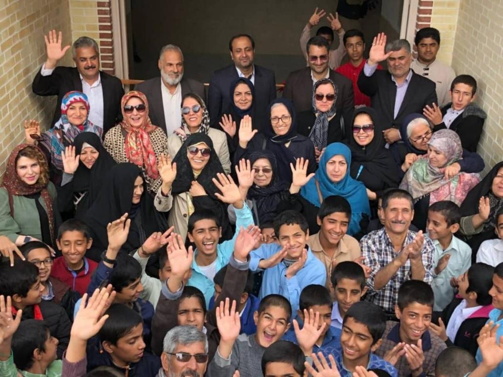 مشارکت مردمی در پروژه مدرسه سازی مهر هامون