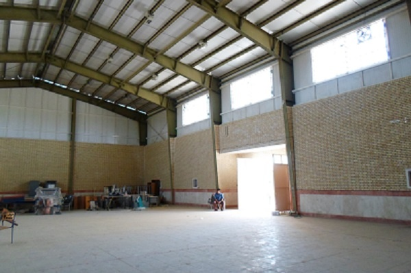 مدرسه سازی و سالن ورزش برای روستا