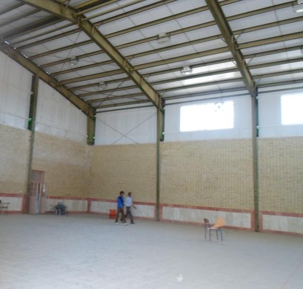 سالن ورزش برای بچه های روستا