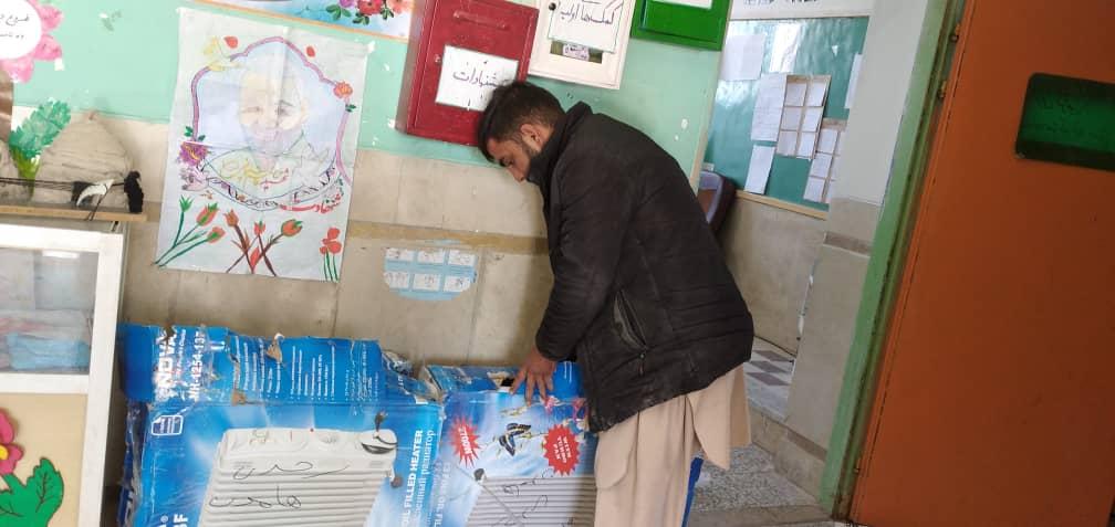 رادیاتور برقی برای مدارس مناطق محروم